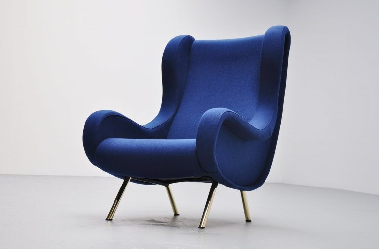 Marco Zanuso Senior lounge chair Arflex 1951