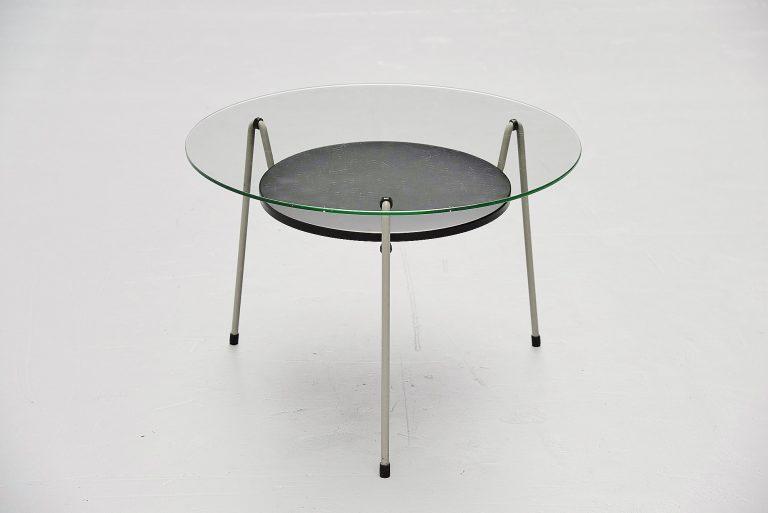 Wim Rietveld Mosquito table model 535 Gispen 1953