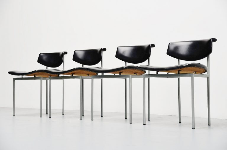 Rudolf Wolf Meander Alpha chairs Holland 1962