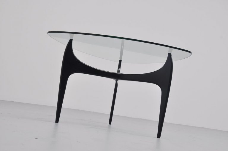 Jos de Mey Luxus coffee table Belgium 1957