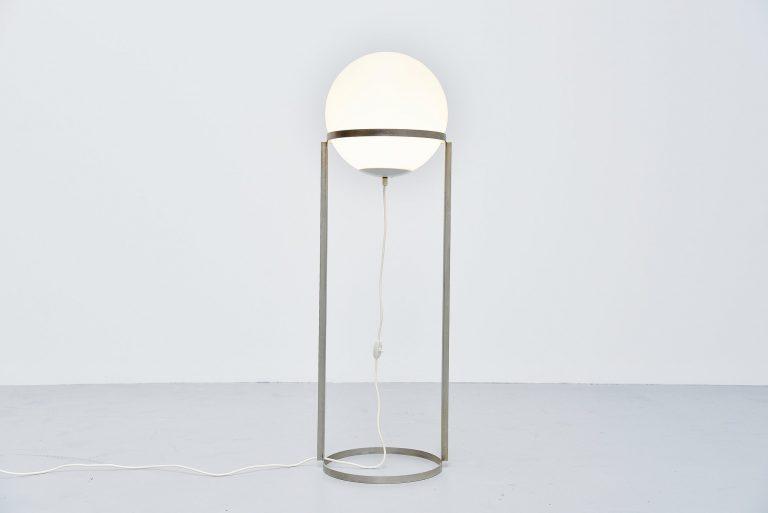 Carl Aubock keugelleuchte floor lamp Austria 1969