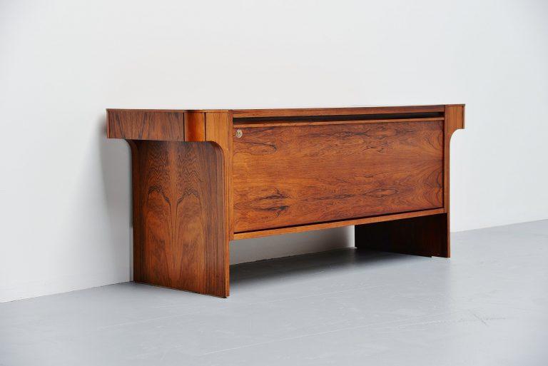 Danish rosewood storage cabinet Denmark 1960
