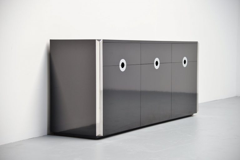 Willy Rizzo credenza for Mario Sabot Italy 1972