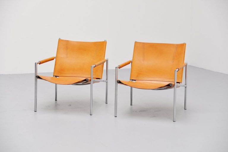 Martin Visser SZ01 't Spectrum lounge chairs 1965