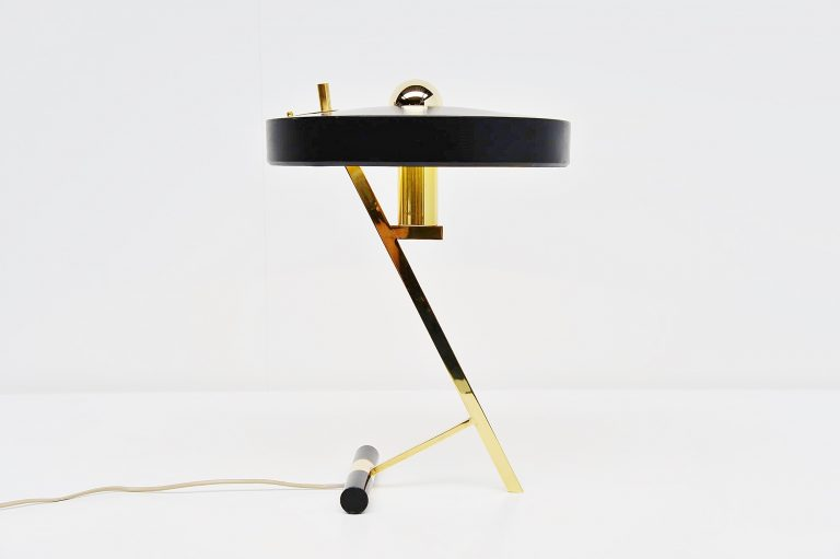 Louis Christiaan Kalff desk lamp Philips Belgium 1955