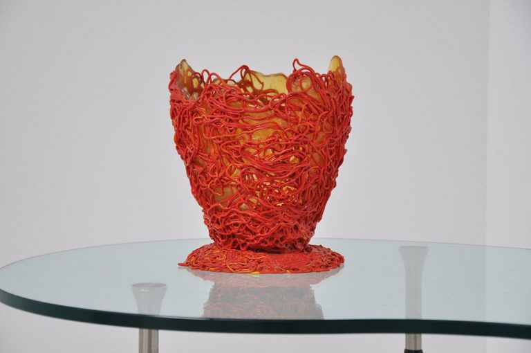 Gaetano Pesce spaghetti vase Fish Design 2004