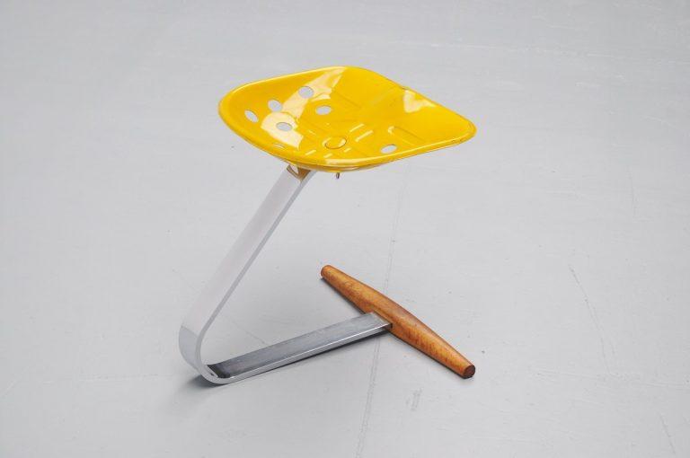 Achille Castiglioni Mezzadro stool for Zanotta 1973