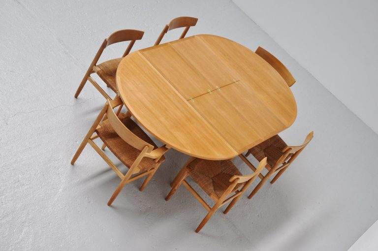 Borge Mogensen oak dining table 1955