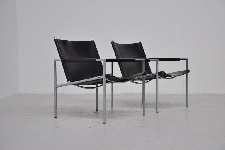 Martin Visser SZ01 easy chairs 't Spectrum 1965