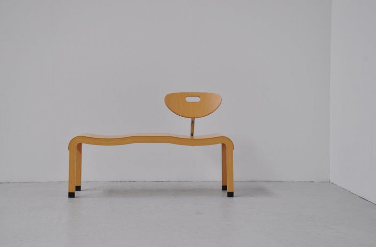 Ruud Jan Kokke Harvink bench 1990