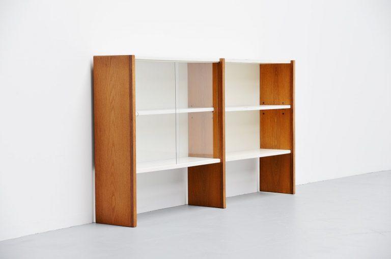 Martin Visser KW62 bookcase cabinet 't Spectrum 1958