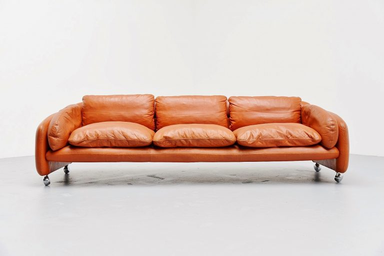 Comfortable lounge sofa made in Finland 1960