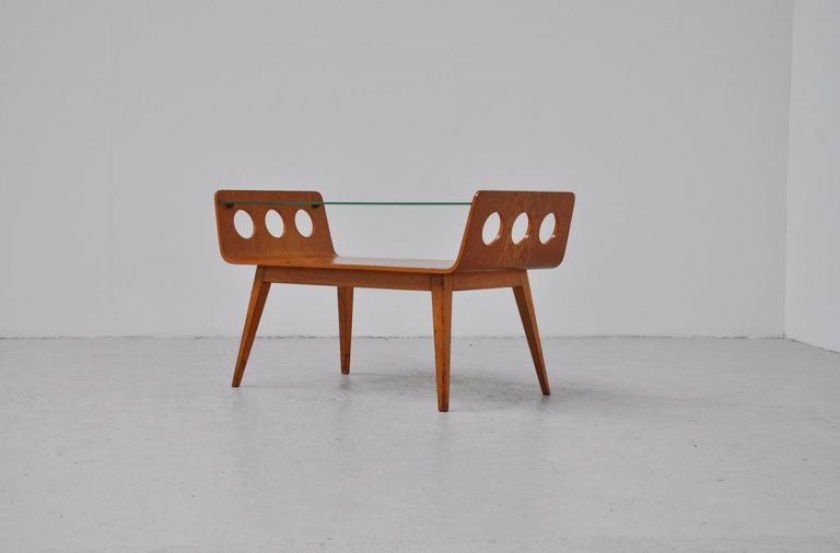 Willem Lutjens coffee table Den Boer 1955