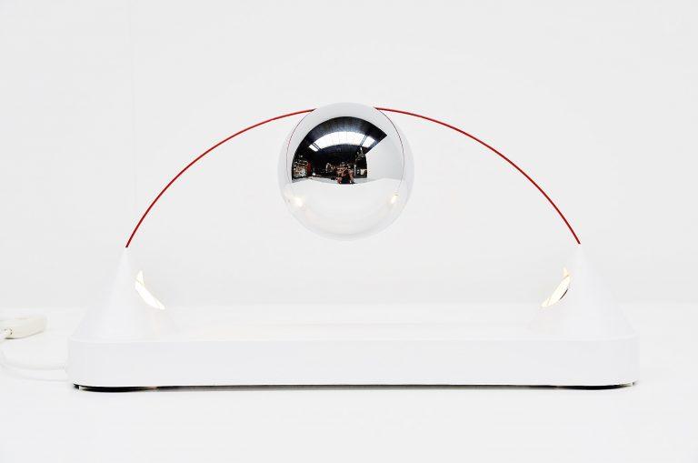 Peppe di Giuli Mercurio table lamp Sirrah 1971