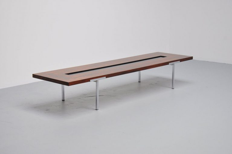 Antoine Philippon / Jacqueline Lecoq coffee table France 1962