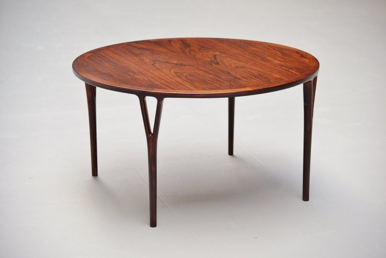 Helge Vestergaard Jensen coffee table in Rosewood 1955