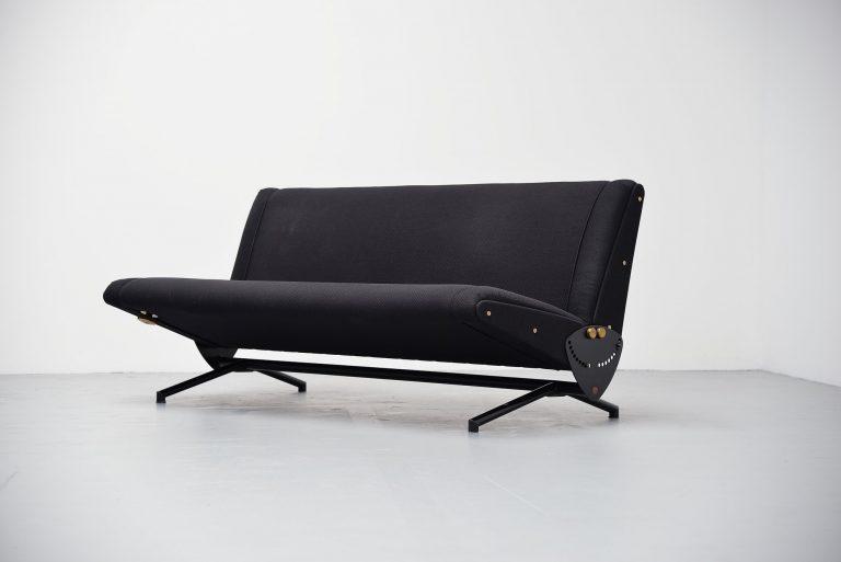 Osvaldo Borsani D70 daybed sofa Tecno Italy 1954