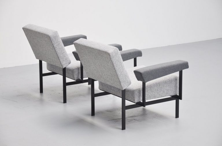 Pastoe FM07 lounge chairs Cees Braakman 1958