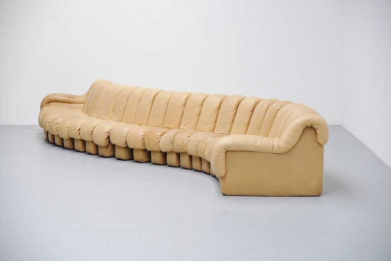 De Sede DS-600 non stop sofa by Ueli Berger Switzerland 1972