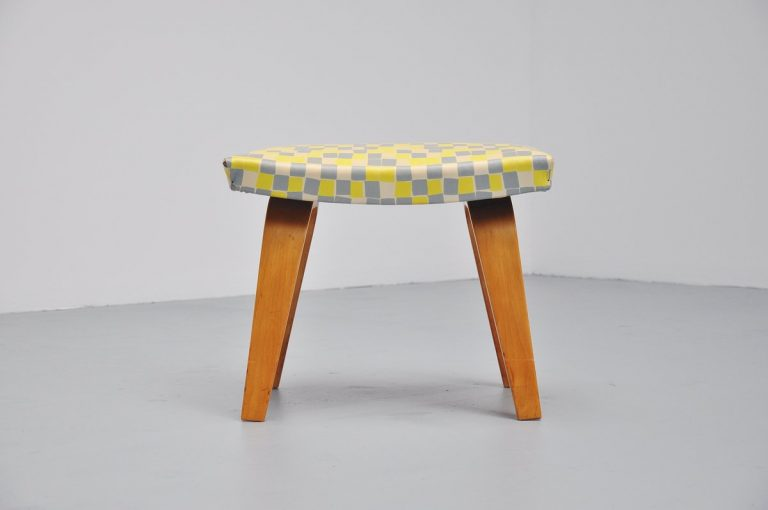 Cees Braakman stool for Pastoe 1955