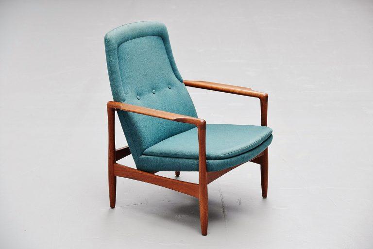 Ib Kofod Larsen easy chair Selig Imports Denmark 1962