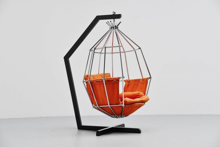 Ib Arberg parrot chair Abre Designs Sweden 1970