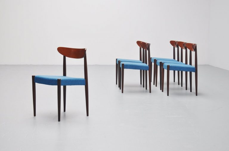 Oswald Vermaercke Paola dining chairs for V-Form Belgium 1961
