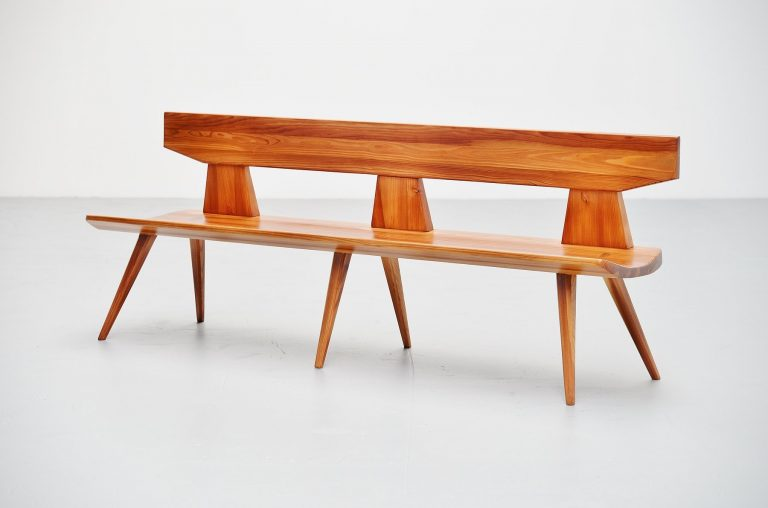 Jacob Kielland-Brandt bench for I. Christiansen Denmark 1960