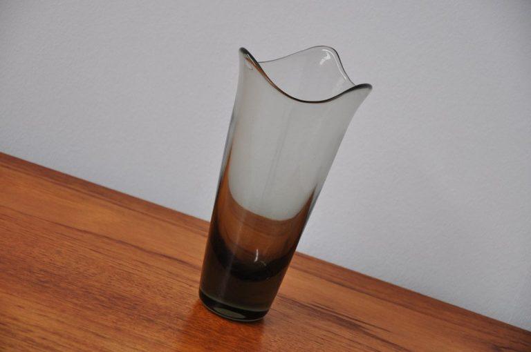 Holmegaard Per Lutken glass vase 1954