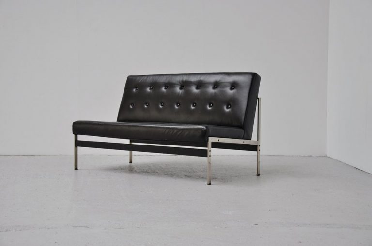 Kho Liang le 020 sofa leather Artifort 1958