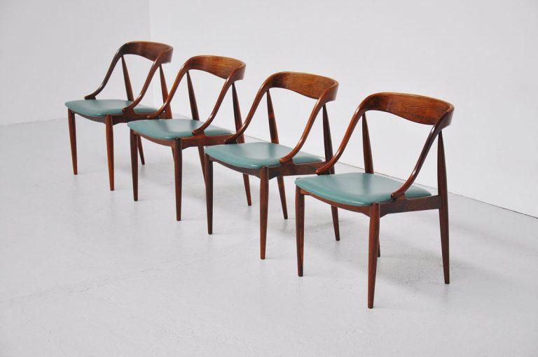 Johannes Andersen Moreddi Rosewood chairs 1960