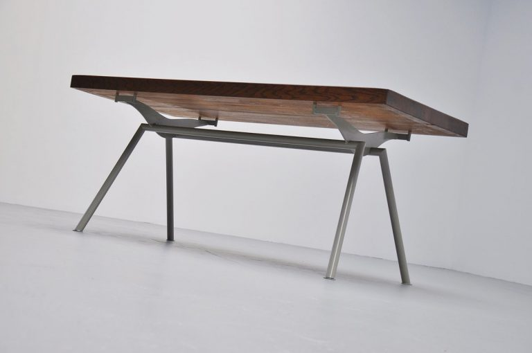 Unknown industrial table Prouve Perriand Quality 1960