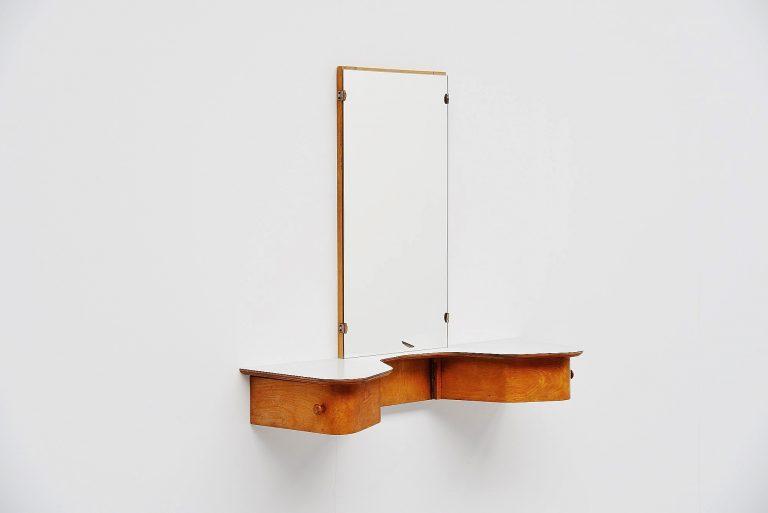 Pastoe vanity mirror EB05 Cees Braakman 1952