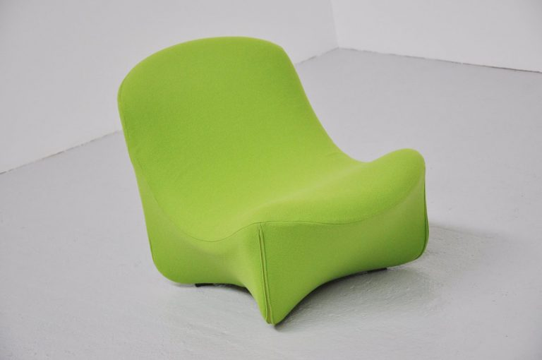 Artifort design group 593 lounge chair 1974
