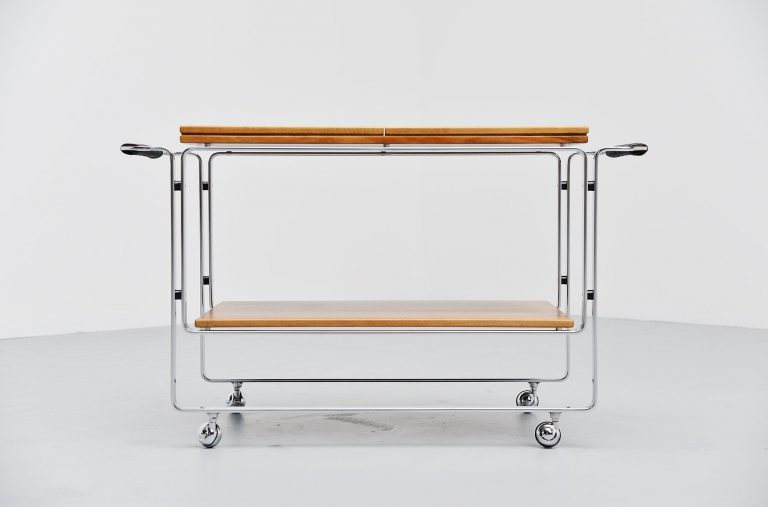 Horst Brüning tea trolley Kill International Germany 1968