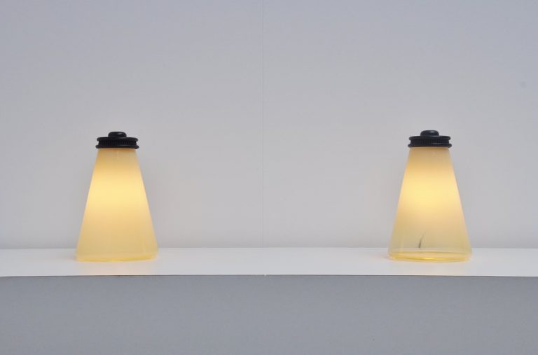 Ezio Didone Conetto table lamps for Arteluce 1979