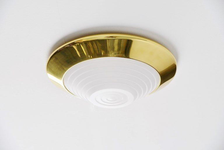 Ezio Didone Onda ceiling lamp Arteluce Italy 1979