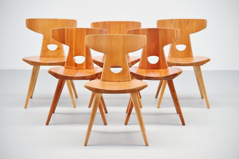 Jacob Kielland-Brandt chairs for I Christiansen Denmark 1960