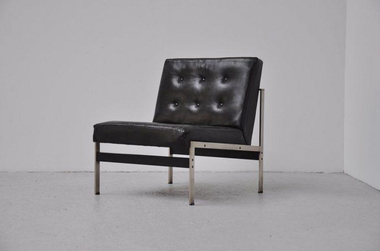 Kho Liang le 020 easy chair leather 1958