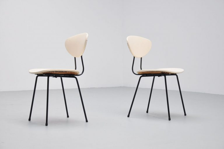 Rudolf Wolf side chairs Elsrijk 1954