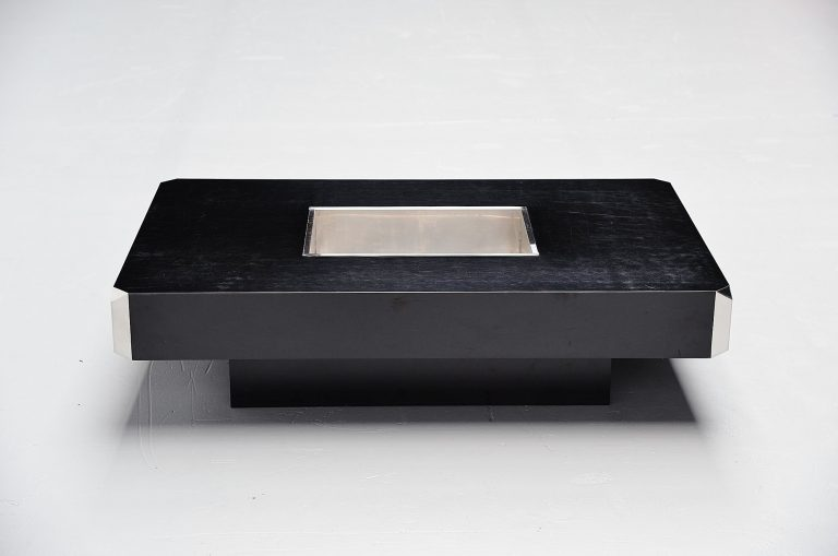 Willy Rizzo Alveo coffee table Mario Sabot Italy 1972