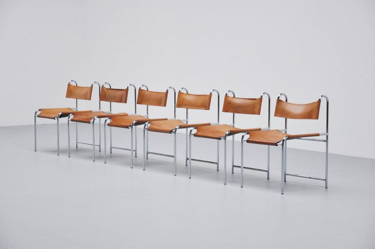 French dining chairs Pascal Mourgue style 1970