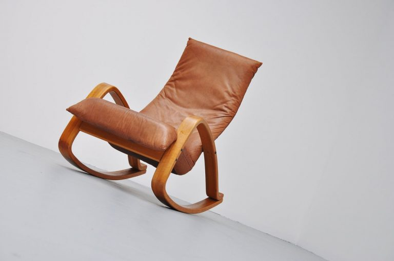 Gerard van den Berg Montis Onrad Rocking chair 1970