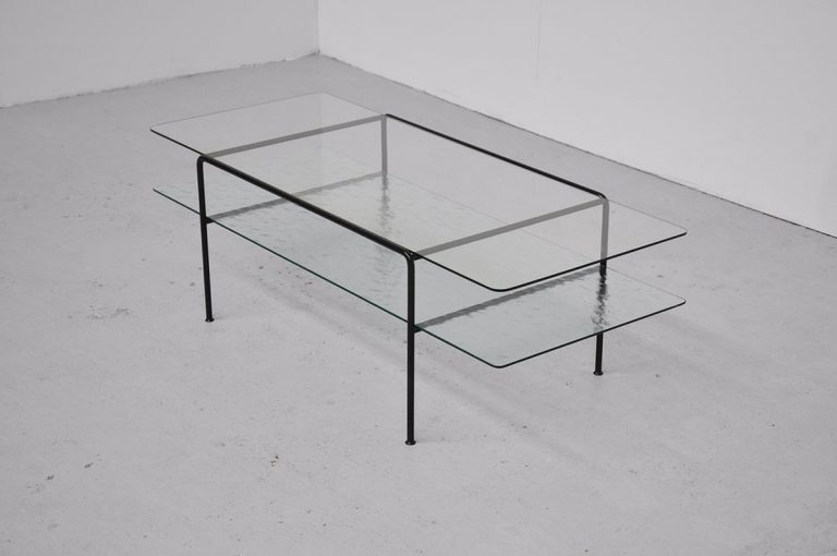 Wim Rietveld Gispen console table No.3637 1961