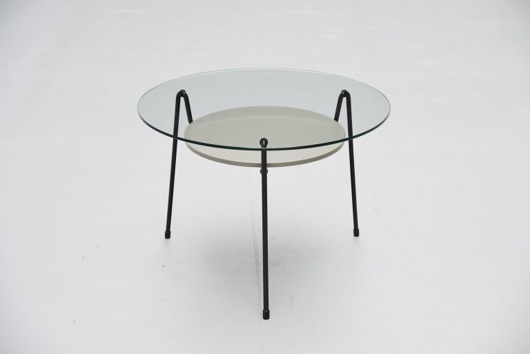 Wim Rietveld Mosquito table model 535 Gispen 1953