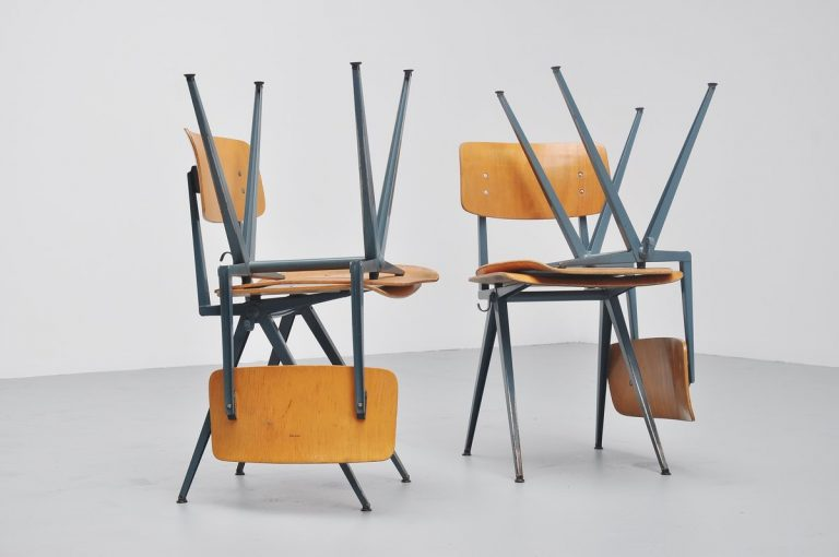 Marko industrial chairs Holland 1960