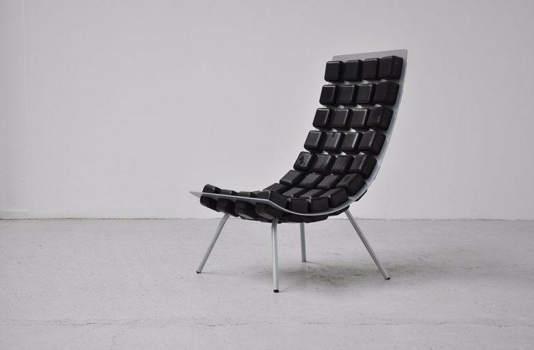 Kombinat easy chair for Hidden 2001