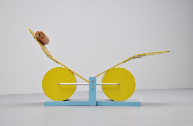 Alex A.R. Pedersen adjustable lounge chair 1982