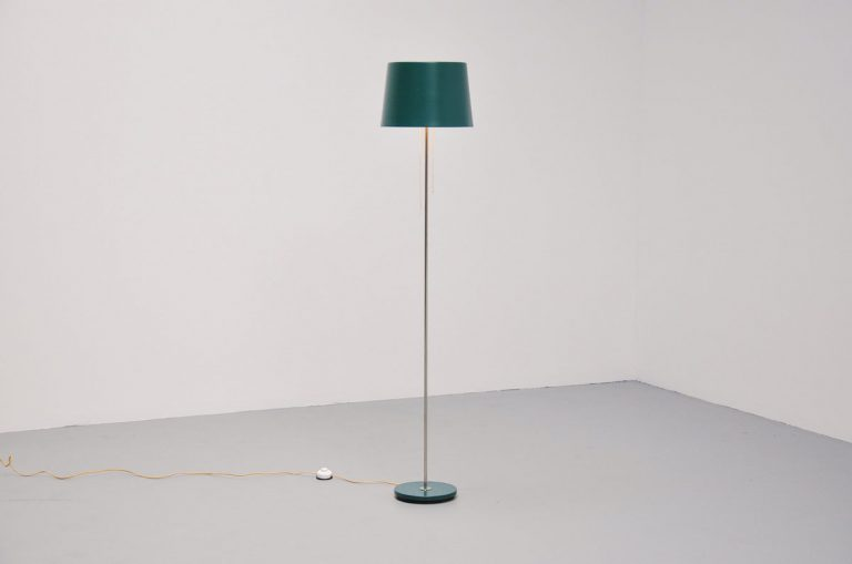 Gispen industrial floor lamp 1960
