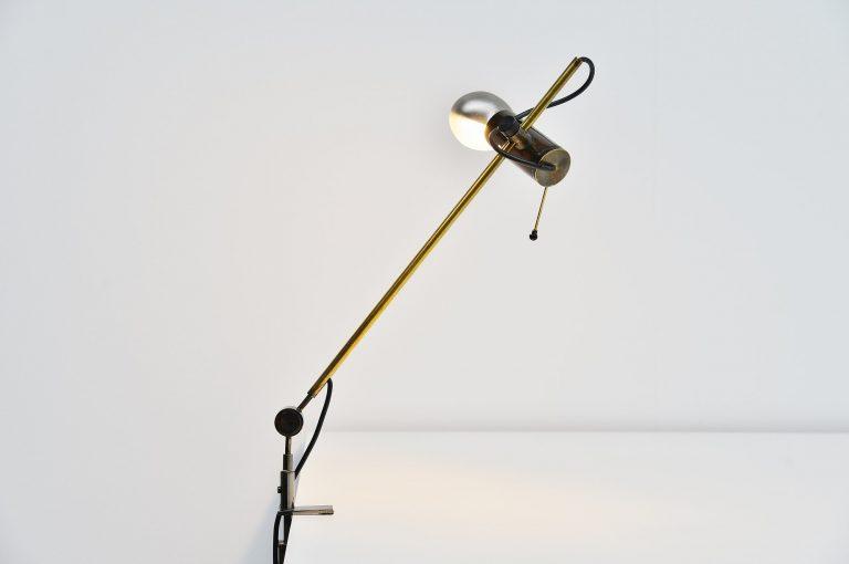 Tito Agnoli 255 desk lamp Oluce Italy 1954